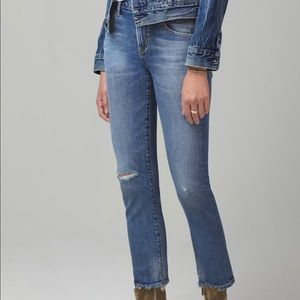 Citizens of Humanity Elsa Crop Jeans in Cadence